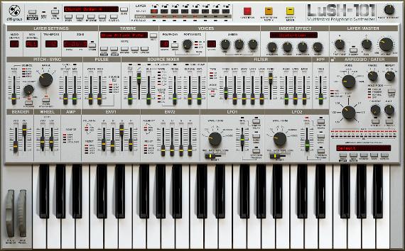 D16 LuSH-101 Hammarica PR Electronic Dance Music News